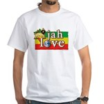 Jah Love White T-Shirt