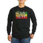 Jah Love Long Sleeve Dark T-Shirt