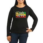 Jah Love Women's Long Sleeve Dark T-Shirt