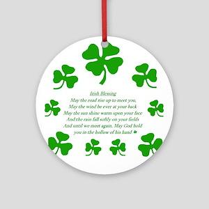 IRISH TOAST Ornament (Round)