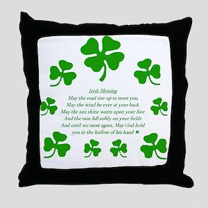 IRISH TOAST Throw Pillow