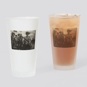 Mexican Gentlemen Drinking Glass