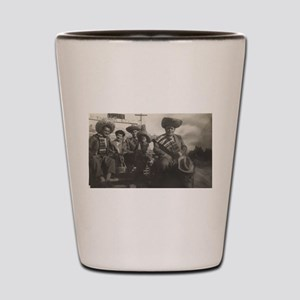 Mexican Gentlemen Shot Glass