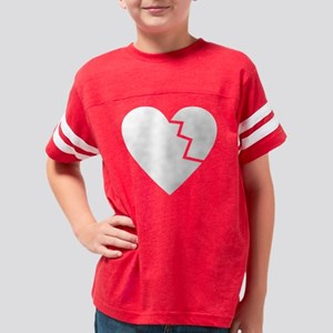 brokenheat1 Youth Football Shirt