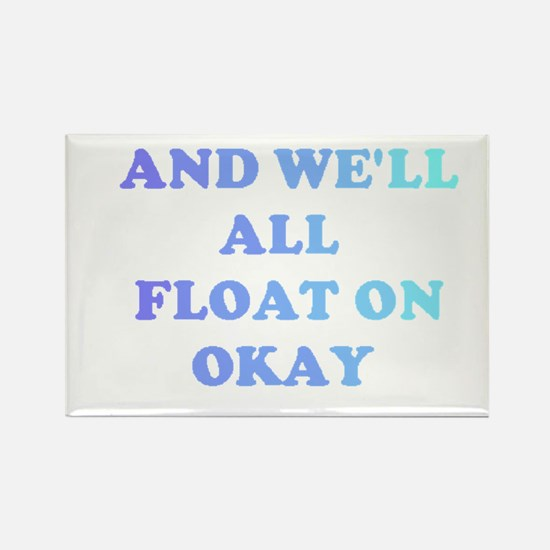 float on Rectangle Magnet
