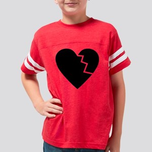 brokenheat2 Youth Football Shirt