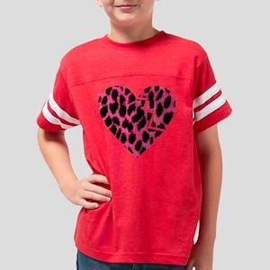 brokenheat3 Youth Football Shirt