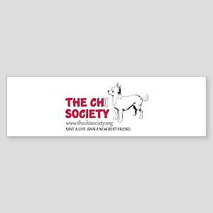 The Chi Society Bumper Sticker
