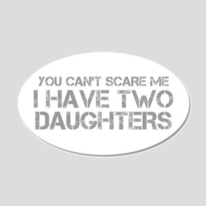 two-daughters-CAP-GRAY Wall Decal
