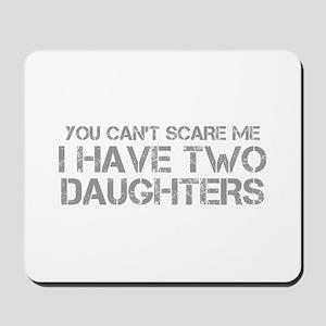 two-daughters-CAP-GRAY Mousepad