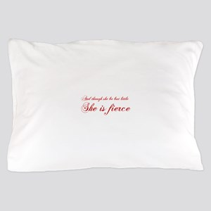 she-is-fierce-cho-red Pillow Case
