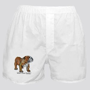 Bulldog Daddy Boxer Shorts