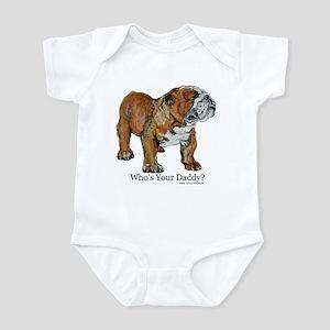 Bulldog Daddy Infant Bodysuit