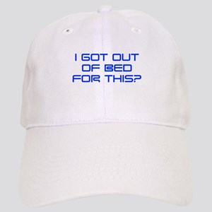 i-got-out-of-bed-SAVED-BLUE Baseball Cap