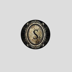 MONOGRAM Gothic Frame Mini Button