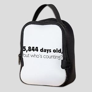 16th Birthday Neoprene Lunch Bag
