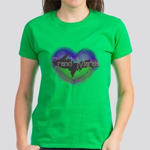 Aurora Grand Marais Women's Dark T-Shirt