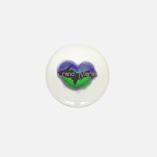 Aurora Grand Marais Mini Button