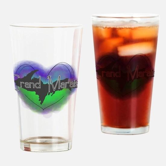Aurora Grand Marais Drinking Glass