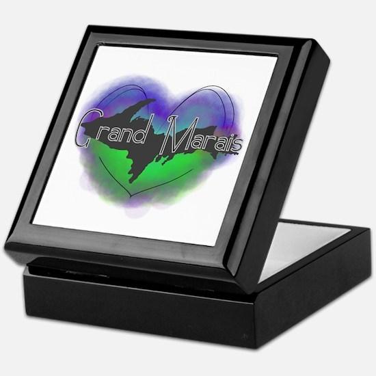 Aurora Grand Marais Keepsake Box