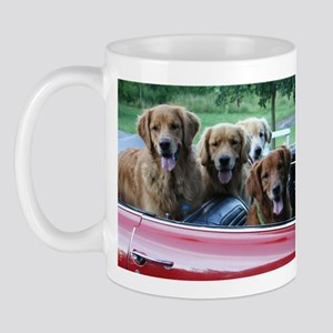Summer Drive Golden Retriever Mug