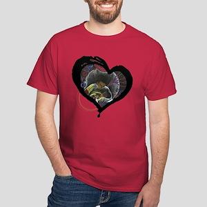 Sickle Cell Heart 3 Dark T-Shirt