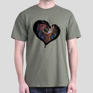 Sickle Cell Heart 2 Dark T-Shirt