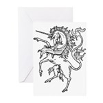 Unicorn Greeting Cards (Pack of 6)