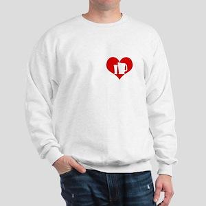Beer Heart Sweatshirt