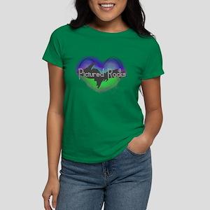 Aurora Pictured Rocks Women's Dark T-Shirt