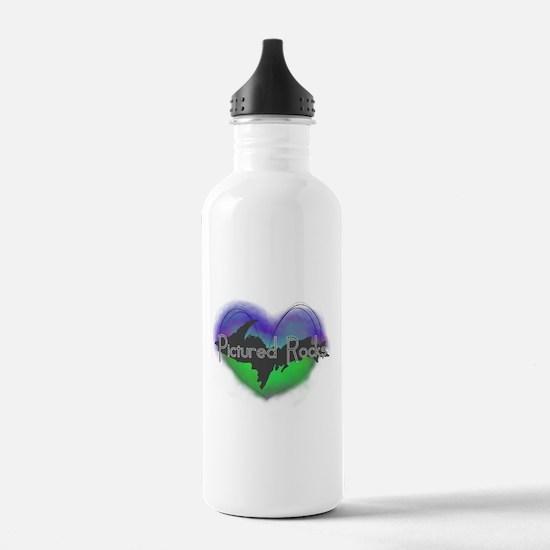 Aurora Pictured Rocks Water Bottle