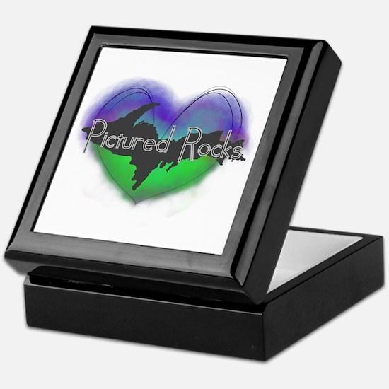 Aurora Pictured Rocks Keepsake Box