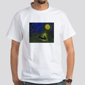 """In Moonlight"" White T-Shirt"