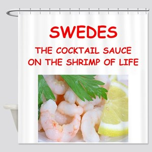 SWEDES Shower Curtain
