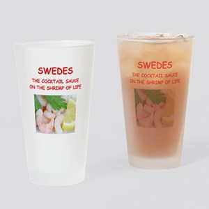 SWEDES Drinking Glass