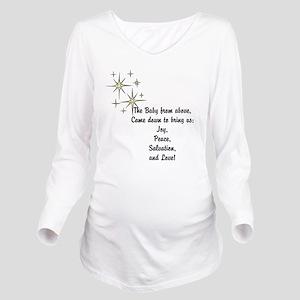 Christmas hope Long Sleeve Maternity T-Shirt