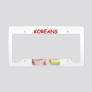 korea License Plate Holder