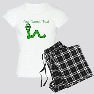 Custom Cartoon Inchworm pajamas