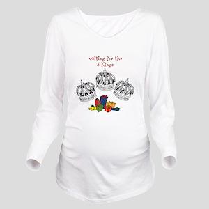 3 Kings Long Sleeve Maternity T-Shirt