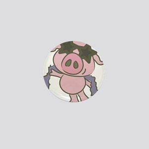 Pig Star Mini Button
