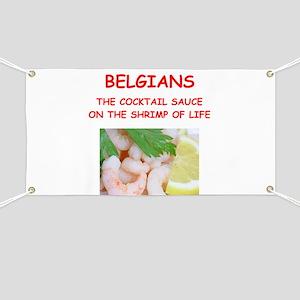 BELGIANS Banner