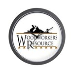 Woodworkers Resource Wall Clock