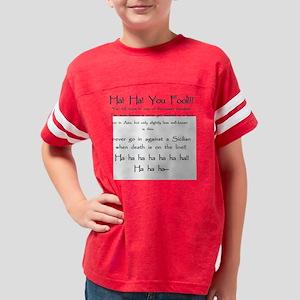 YouFool_apparel Youth Football Shirt