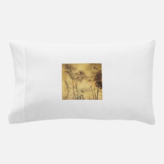 Fairy's Tightrope by Arthur Rackham Pillow Case