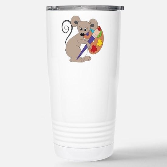Artist mouse Travel Mug