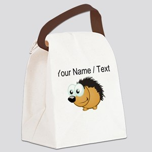 Custom Hedgehog Canvas Lunch Bag
