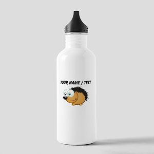 Custom Hedgehog Sports Water Bottle