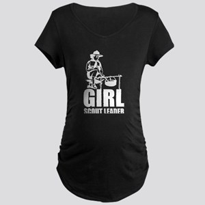 GIRL SCOUT LEADER Maternity T-Shirt