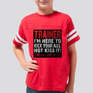 TRAINER - KISS IT Youth Football Shirt