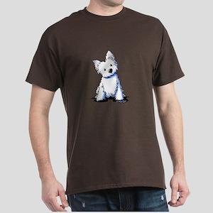 Westie Sweetness Dark T-Shirt